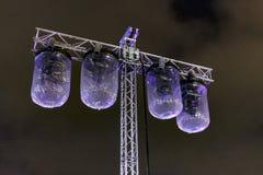 Belysningsystem med fuktighetsskydd fotografering för bildbyråer