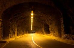Tunnel i Monaco Royaltyfria Bilder