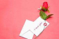 bemärk rose Royaltyfri Foto