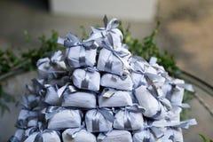 Bem casado各种各样的巴西糖果婚礼 免版税库存图片