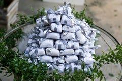 Bem casado各种各样的巴西糖果婚礼 库存图片