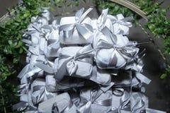 Bem casado各种各样的巴西糖果婚礼 免版税库存照片