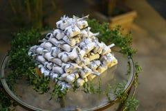 Bem casado各种各样的巴西糖果婚礼 免版税图库摄影
