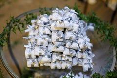 Bem casado各种各样的巴西糖果婚礼 库存照片