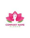 Bem-estar da ioga das mulheres 1 sumário da beleza Foto de Stock Royalty Free