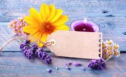Bem-estar e dos termas vida florais frescos ainda Fotos de Stock Royalty Free