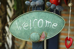 Bem-vindo Imagens de Stock