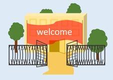 Bem-vindo Fotografia de Stock Royalty Free