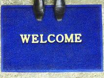 Bem-vindo Foto de Stock Royalty Free