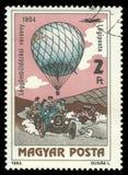 Bemande Vlucht, Ballonconcurrentie royalty-vrije stock foto's
