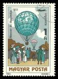 Bemande Vlucht, Dr. De ballon van de Menner` s lucht royalty-vrije stock fotografie