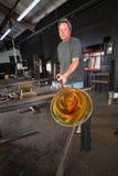 Deltagaren som kyler av exponeringsglas, anmärker Fotografering för Bildbyråer