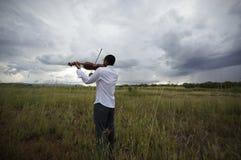 Musik av väder Royaltyfri Foto