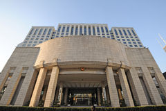 Bemannar regeringen av den Shanghai municipalityen Arkivbild