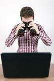 Suchen Sie und zerstören Sie Lizenzfreies Stockfoto