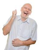 Bemannen Sie das Lachen Lizenzfreies Stockfoto