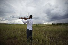 Musik des Wetters Lizenzfreies Stockfoto