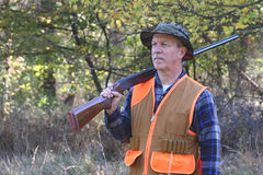 Bemannen Sie die Jagd Lizenzfreies Stockbild
