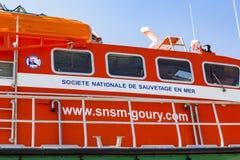 Bemanning van de boot van de het levensredding royalty-vrije stock fotografie