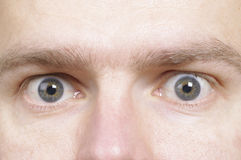 Bemannt Augen Stockfotos