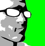 Bemannt Gesicht 56 Lizenzfreie Stockfotos