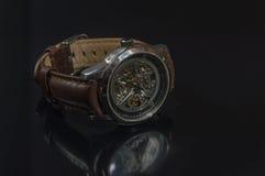 Bemannt Uhr Stockbild