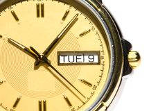 Bemant horloge Royalty-vrije Stock Fotografie