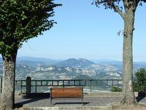 Bemch w San Marino Zdjęcie Stock