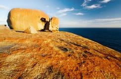 Bemerkenswerte Felsen Stockfoto