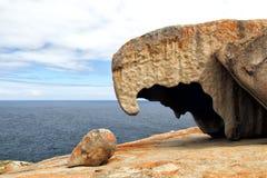 Bemerkenswerte Felsen, Känguru-Insel Stockfotografie