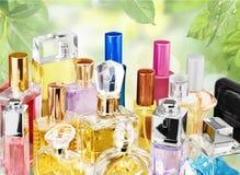 Bemerkt parfum, Parfumspuitbus Royalty-vrije Stock Foto's