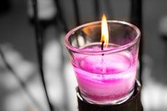 bemerkte kaarsen Stock Foto's
