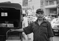 Bemo-Fahrer stockfotografie