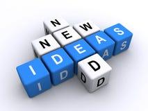 Benötigen der neuen Ideen Stockfotografie