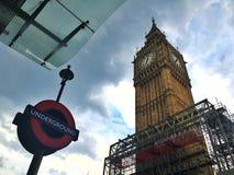 ben μεγάλο Λονδίνο στοκ φωτογραφία με δικαίωμα ελεύθερης χρήσης