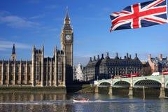 ben μεγάλο Λονδίνο UK Στοκ Εικόνες