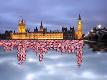 ben μεγάλο Λονδίνο UK Στοκ Φωτογραφία