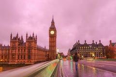 ben μεγάλη νύχτα του Λονδίνο&u Στοκ φωτογραφίες με δικαίωμα ελεύθερης χρήσης
