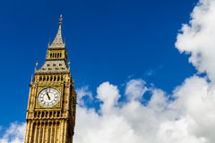 ben μεγάλο Λονδίνο UK Μια άποψη του δημοφιλούς ορόσημου του Λονδίνου, Στοκ Φωτογραφία