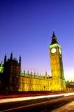 ben το μεγάλο Κοινοβούλιο του Λονδίνου Στοκ Εικόνες