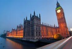ben большой london westminster Стоковое Фото