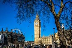 ben большой Лондон Стоковая Фотография