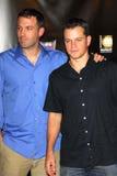 Ben Affleck, Matt Damon Stock Foto's