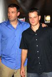 Ben Affleck, Matt Damon Photos stock