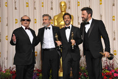 Ben Affleck,George Clooney Royalty Free Stock Photos