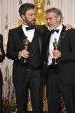 Ben Affleck,George Clooney Royalty Free Stock Image