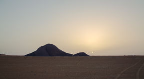 Ben Amera, Mauritania Fotografie Stock Libere da Diritti