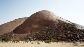 Ben Amera, Mauritania Stock Image