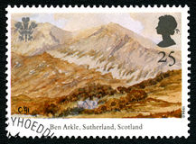 Ben Arkle UK Postage Stamp Royalty Free Stock Images