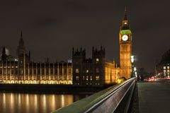 ben big houses night parliament Στοκ Εικόνα